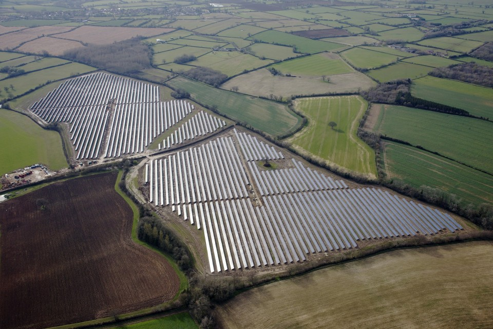 Battend Farm solar park