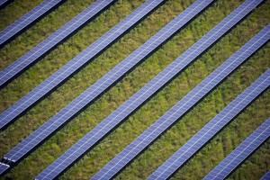 utility scale solar park