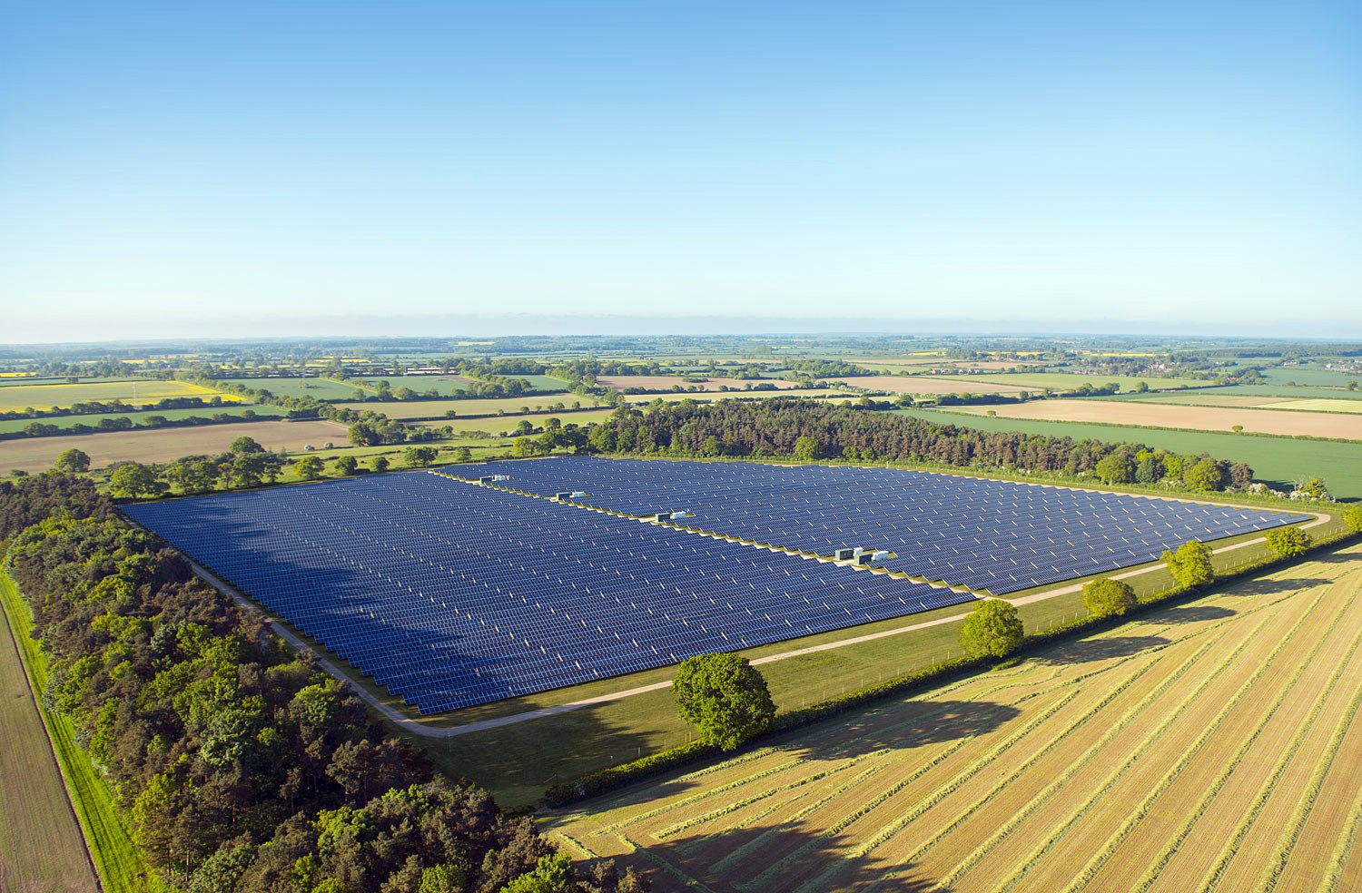 Fountaine Solar Park Our Renewable Energy Projects Low