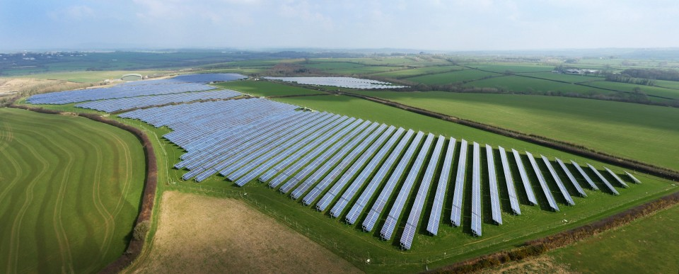 Rudbaxton solar park