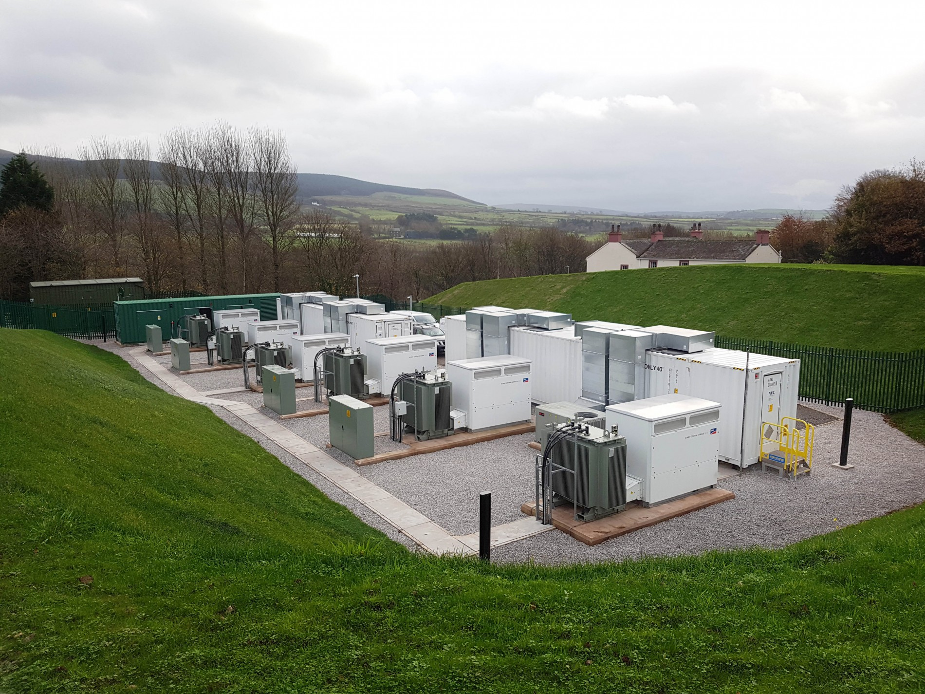 Cleator battery storage project