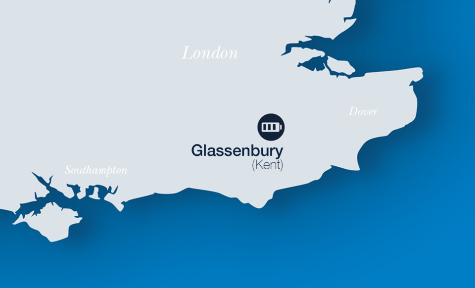 Glassenbury battery storage project