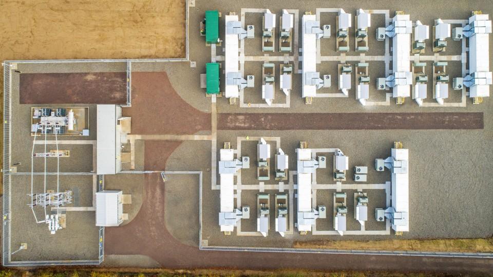 Glassenbury Battery Storage Park