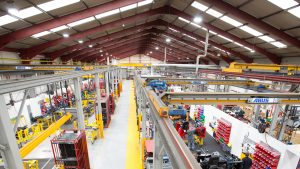 manufacturing facility using LED lighting as a service