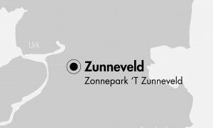 Map of Zunneveld Solar Park